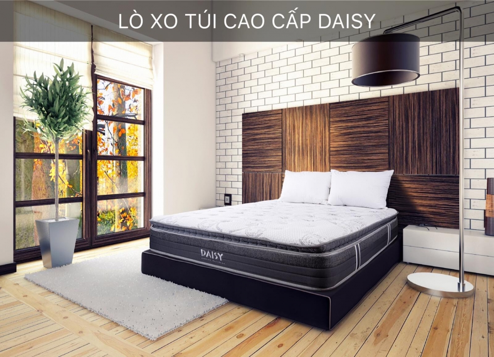 Đệm Lò Xo Túi Daisy Hanvico